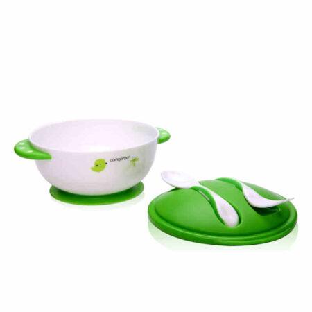 Σετ Μπωλ Φαγητού με κουταλάκι και πιρουνάκι Cangaroo 3800146259921