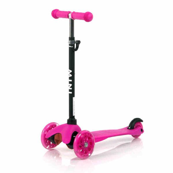 Πατίνι με φωτάκια στις ρόδες Lorelli Scooter Mini Pink 10390010004