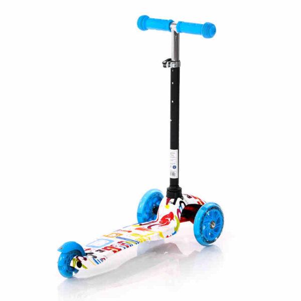 Πατίνι με φωτάκια στις ρόδες Lorelli Scooter Mini Tracery 10390010003