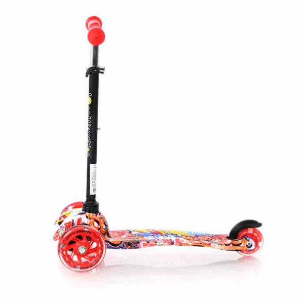 Πατίνι με φωτάκια στις ρόδες Lorelli Scooter Mini Grafiti 10390010002