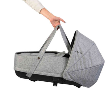Πορτ-Μπεμπε Carry Cot Cangaroo 4x4 Grey 3800146234867