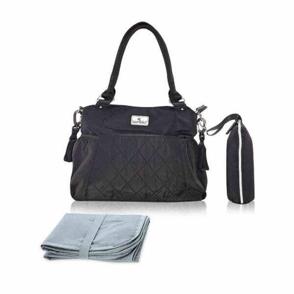 Τσάντα Αλλαγής του μωρού Lorelli Kristin Black 10040270002