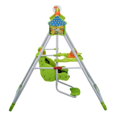 Παιδική Κούνια Bebe Stars Duck Green 020-174