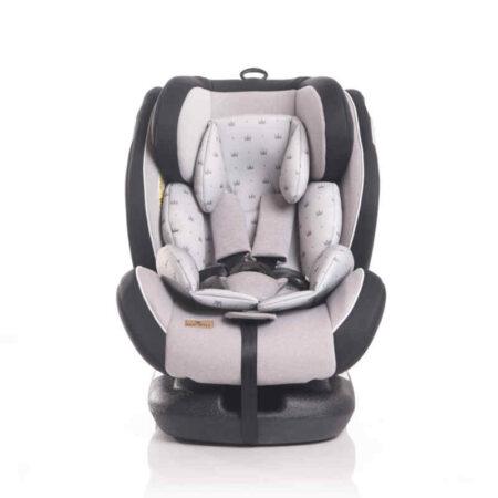 Κάθισμα Αυτοκινήτου Lorelli Corsica Isofix 0-36 kg Grey Crowns 10071262094