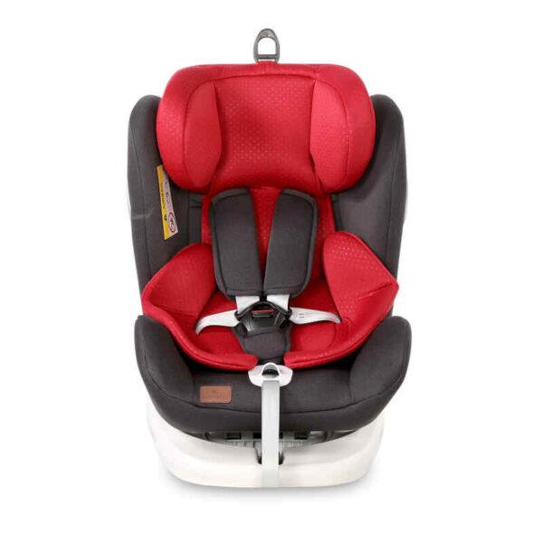Kάθισμα αυτοκινήτου Lorelli Lusso Sps Isofix 0-36 kg Black-Red 10071112018