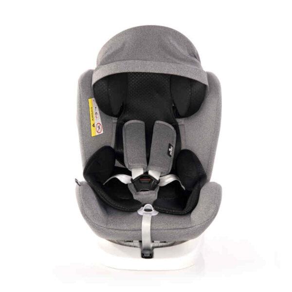 Kάθισμα αυτοκινήτου Lorelli Lusso Sps Isofix 0-36 kg Grey 10071111907R