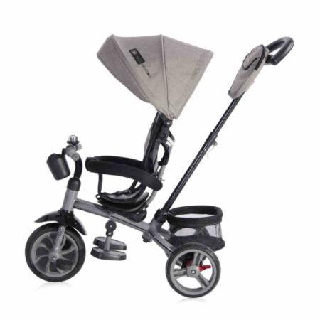 Τρίκυκλο ποδηλατάκι 2 σε 1 Lorelli Tricycle Rocket Grey 10050372108