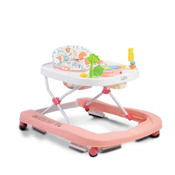 Στράτα-περπατούρα Cangaroo Zoo Pink 3800146243906
