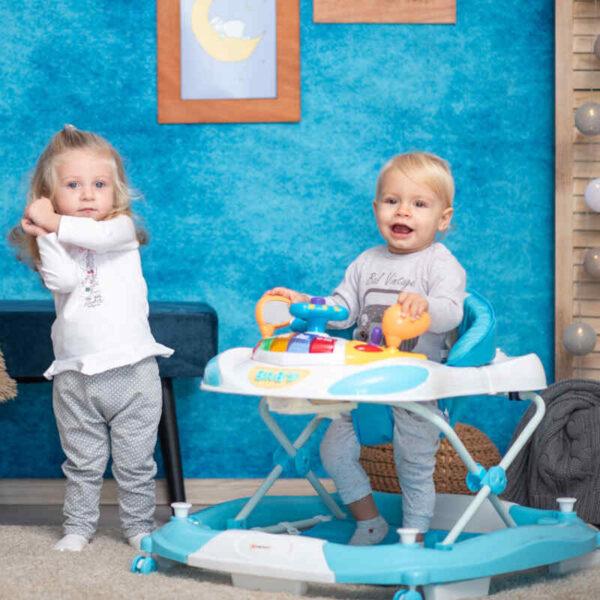 Στράτα-Κούνια Lorelli Swing EB W1224CE Light Blue 10120370003