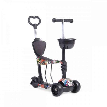 Πατίνι με κάθισμα μετατρεπόμενο Cangaroo Scooter Pixy 3800146226060