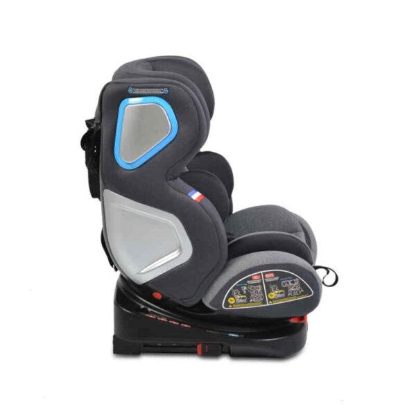 Κάθισμα αυτοκινήτου Isofix 0-36 kg Cangaroo Colonel Light Grey 3801005150205