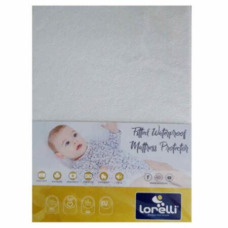 Κατωσέντονο αδιάβροχο με λάστιχο Lorelli Fitted Waterproof 70-140 2007019
