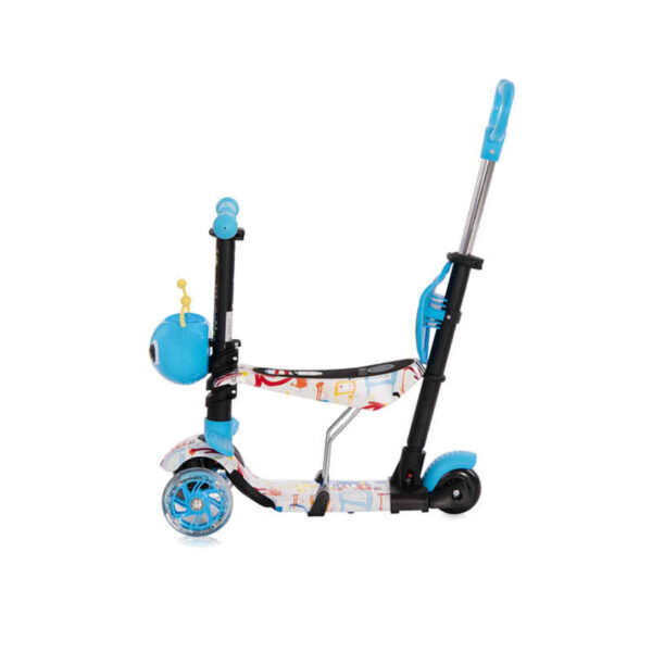 Πατίνι με κάθισμα μετατρεπόμενο Lorelli Smart Tracery 10390030003