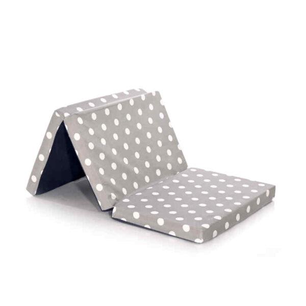 Στρώμα Αναδιπλούμενο παρκοκρέβατου Grey Dots Lorelli 60-120-5cm 1016027-3