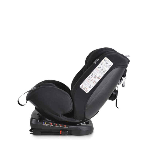 Κάθισμα αυτοκινήτου 0-36 κιλά Isofix Cangaroo Serengeti Black 3801005150793 Με Δώρο Μαξιλάρι Στήριξης Κεφαλής