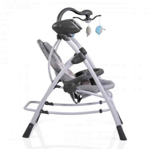 Ηλεκτρικό ρηλάξ Cangaroo Swing Star Grey 3800146247300