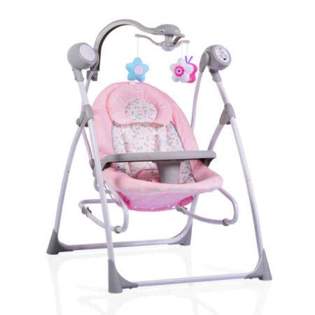 Ηλεκτρικό ρηλάξ Cangaroo Swing Star Pink 3800146246952