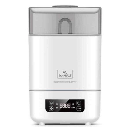Αποστειρωτής 6 θέσεων με λειτουργία στεγνώματος Lorelli Electric Stream Sterilizer and Dryer 1028018