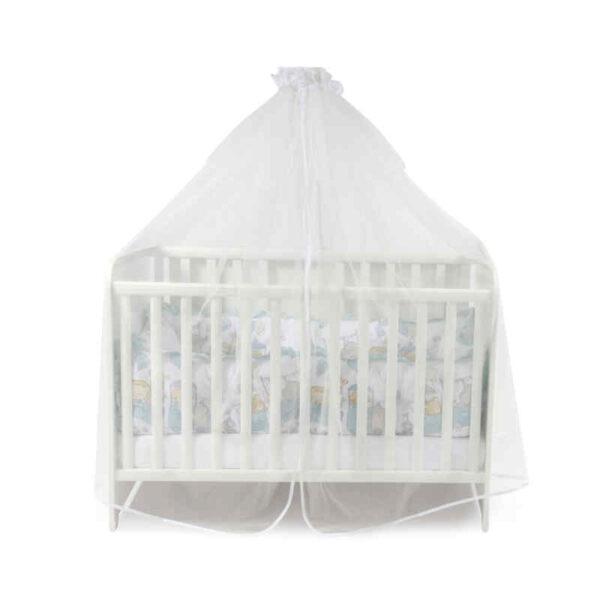 Κουνουπιέρα Κρεβατιού Lorelli Canory Net White 480/150 20051170001