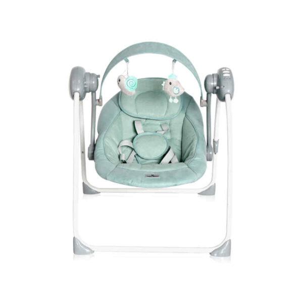 Κούνια Ρηλάξ Lorelli Portofino Frosty Green Stars 10090062146